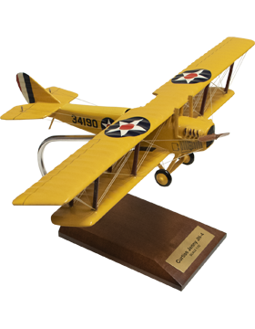 Curtiss JN-4 Jenny Model Plane Scale 1:32