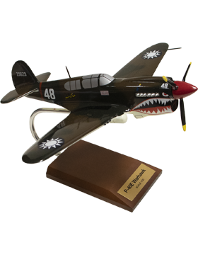 Curtiss P-40E Warhawk Model Plane Scale 1:32