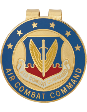 Money Clip (AF-0004C) United States Air Force Air Combat Command (Blue)