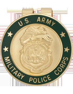 Money Clip (AR-B/MP) Military Police Badge