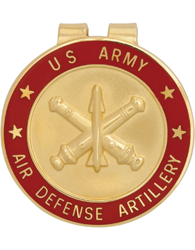 Money Clip (AR-BOS/ADA) Air Defense Artillery Branch Of Service