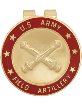 Money Clip (AR-BOS/FA) Field Artillery Branch Of Service