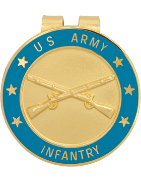 Money Clip (AR-BOS/IN) Infantry Branch Of Service