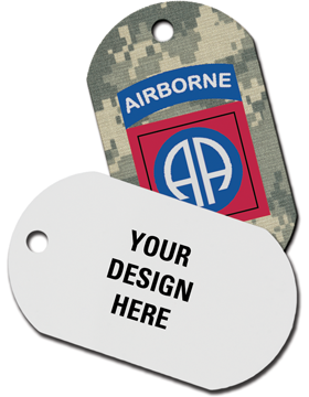 Custom Full Color Dog Tag, One-sided
