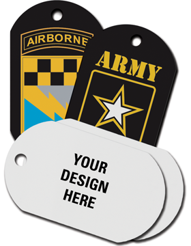 Custom Full Color Dog Tag, Two-sided