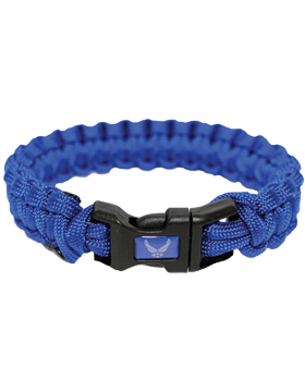 MPB-AF Military Paracord Bracelet Air Force