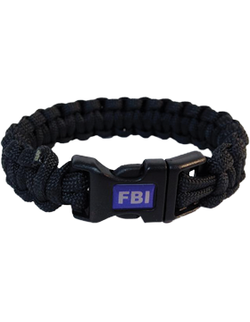 MPB-FBI Military Paracord Bracelet FBI