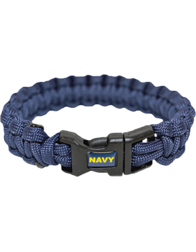 MPB-NY Military Paracord Bracelet Navy
