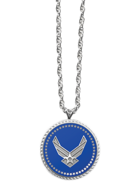 Presidential Series Air Force Pendant Necklace Style 2