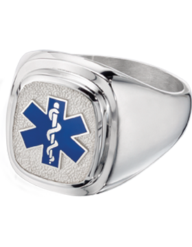 EMT Classic Ring Style 14 Sterling Silver
