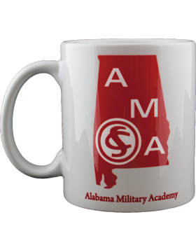 MUG-AMA/100, Coffee Mug, Alabama Military Academy