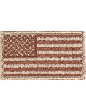 Amer Flag 2in x 3in Fwd Desert