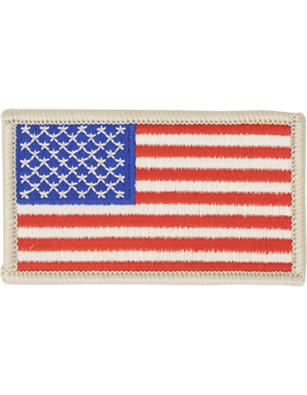 N-016B, American Flag, Silver Border (Fwd) Full Color, 2 1/4 x 3 1/2