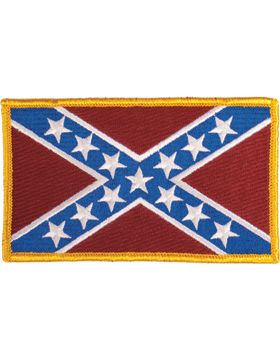 Confederate Flag 3in x 5in Full Color