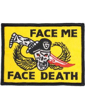 Face Me Face Death Tab 3in x 4in