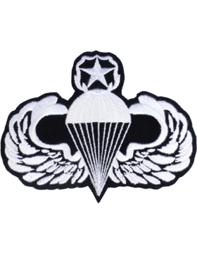 Master Parachutist Badge 4in x 5in