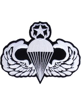 Master Parachutist Badge 5in x 7in