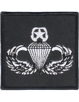 Master Parachutist Badge Square