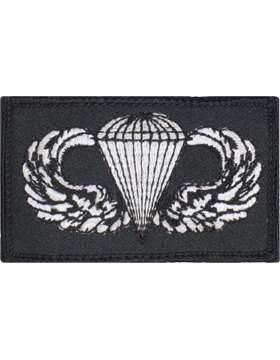 Parachutist Badge Square
