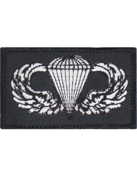 Parachutist Badge Square