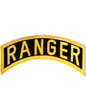 Ranger Tab Gold on Black 12in