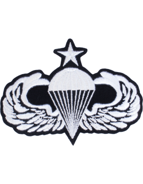Senior Parachutist Badge 4in x 5in