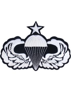 Senior Parachutist Badge 5in x 7in