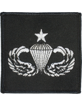 Senior Parachutist Badge Sqaure