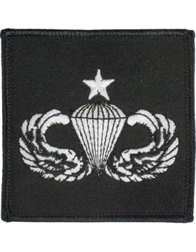 Senior Parachutist Badge Sqaure