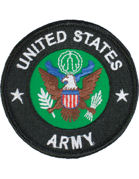 United States Army Round Patch 3in