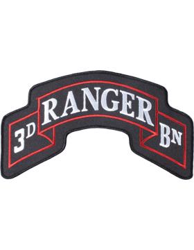 3 Battalion 75 Infantry Ranger - New 10.5in