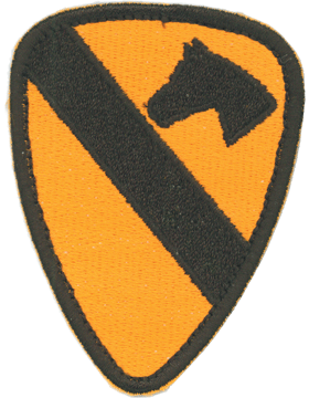 N-118 1 Cavalry Patch 3in