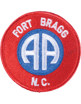 N-127 Fort Bragg North Carolina Patch Three Colors 3in