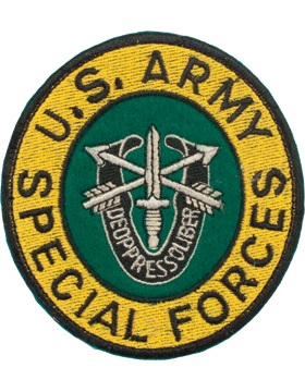 N-137 United States Army Special Forces Patch 3 1/2in