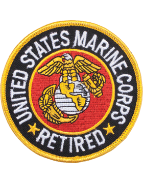 N-139 United States Marine Corps Retired Patch 3 1/2