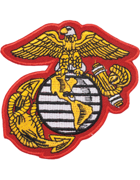 N-140 United States Marine Corps Globe and Anchor Patch 3 1/2
