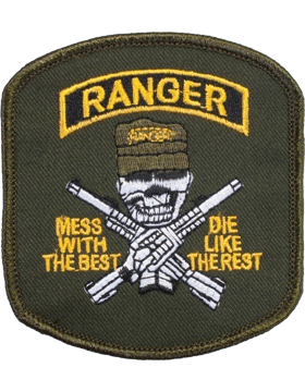 N-141 Ranger Mess and Best Patch small
