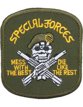 N-142 Special Forces Mess and Best Patch small