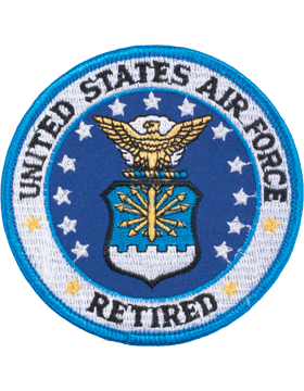 N-144 United States Air Force Retired Patch