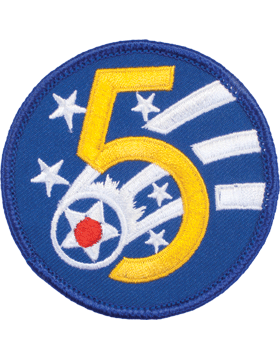 N-151 5 Air Force World War II Patch