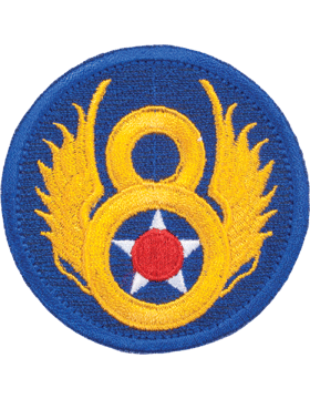 N-154 8 Air Force World War II Patch