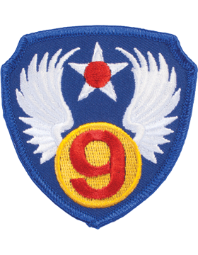 N-155 9 Air Force World War II Patch