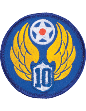 N-156 10 Air Force World War II Patch