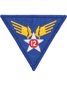 N-158 12 Air Force World War II Patch
