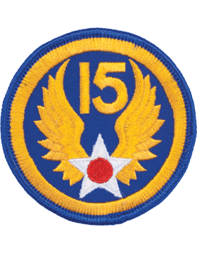 N-161 15 Air Force World War II Patch