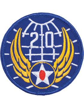 N-162 20 Air Force World War II Patch
