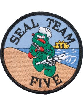 N-171 United States Navy Seal Team 5 Patch