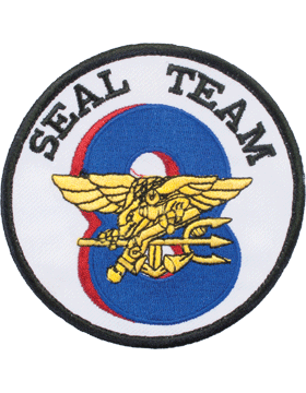 N-173 United States Navy Seal Team 8 Patch