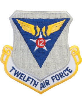 N-195 12 Air Force Shield