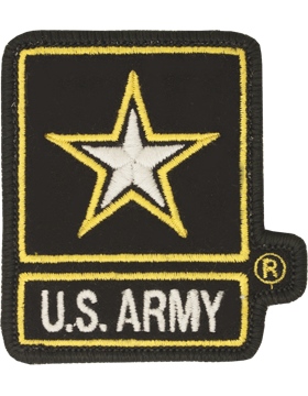 N-306 US ARMY STAR PATCH FC 3.5in